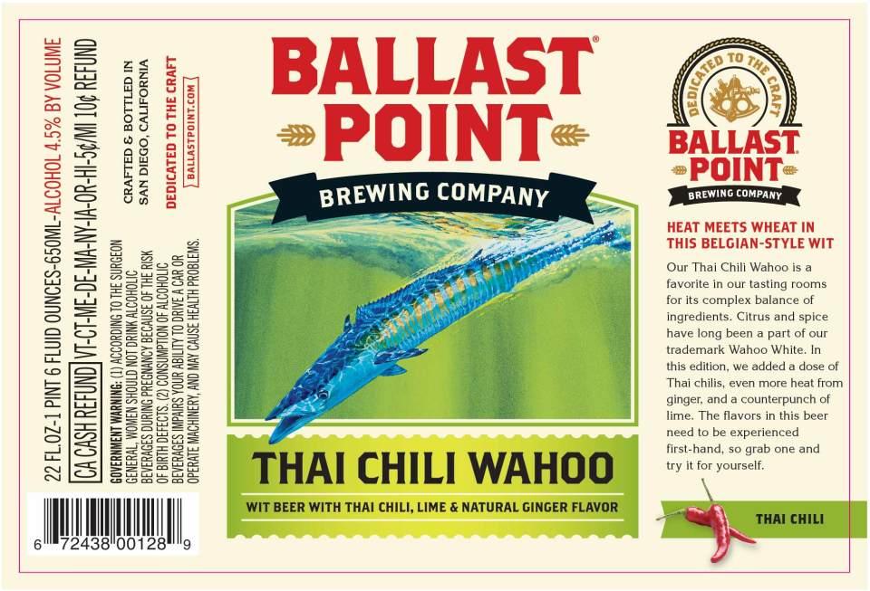 Ballast Point Thai Chili Wahoo
