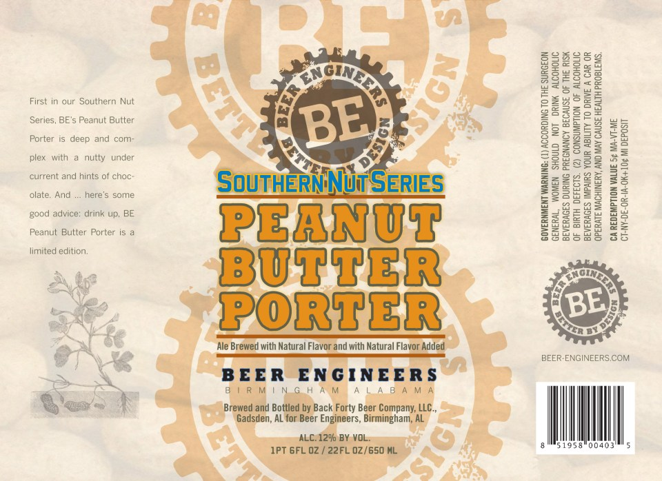 Beer Engineers Peanut Butter Porter