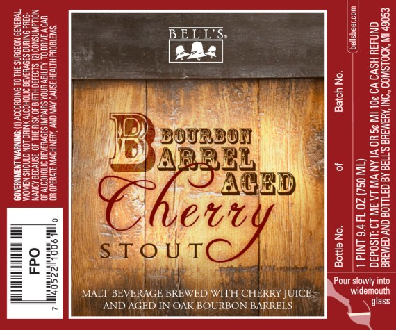 Bell's Brewery Bourbon Barrel Aged Cherry Stout