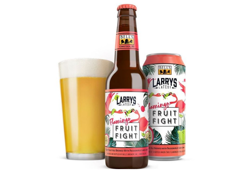 Bell's Larry's Latest Fruit Fight