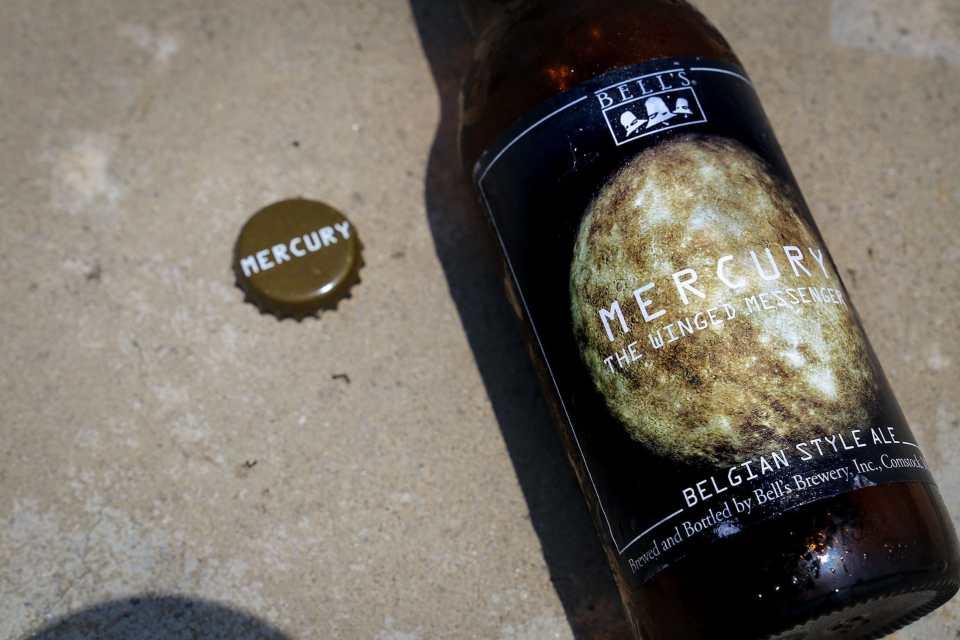 Bell's Mercury Bottle