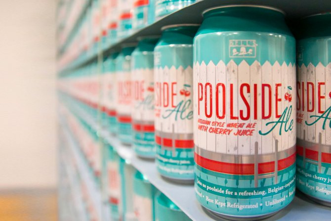 Bell's Poolside Ale cans