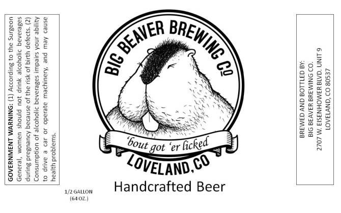Big Beaver 'Bout got 'er licked