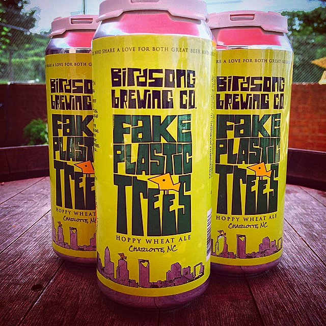 Birdsong Brewing Fake Plastic Trees