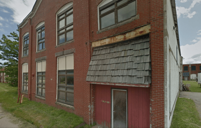 If our Google Maps serves us properly, this is the Brick North Building at 4 Thompson Point Road, Portland, Maine