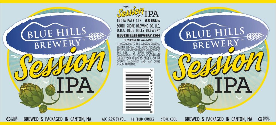 Blue Hills Brewery Session IPA