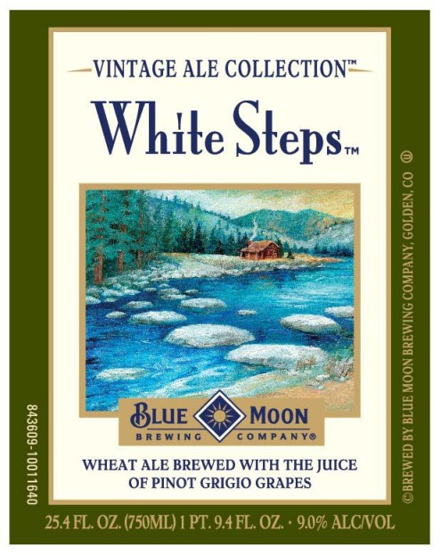 Blue Moon White Steps Front
