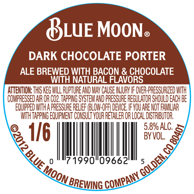 Blue Moon Dark Chocolate Porter