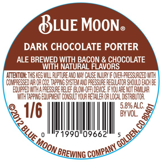 Blue Moon Dark Chocolate Porter