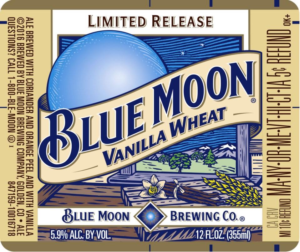 Blue Moon Vanilla Wheat