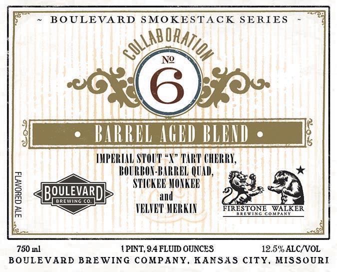 Boulevard Collaboration No. 6 Barrel Aged Blend