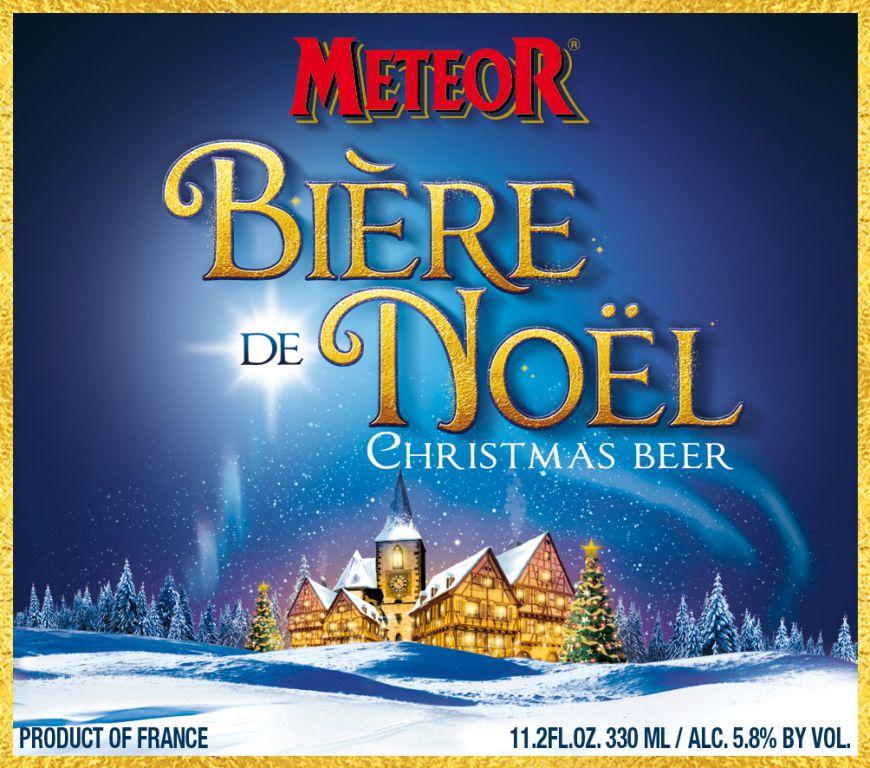 Brasserie Meteor Biere de Noel