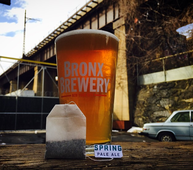 Bronx Spring Pale Ale with Tea