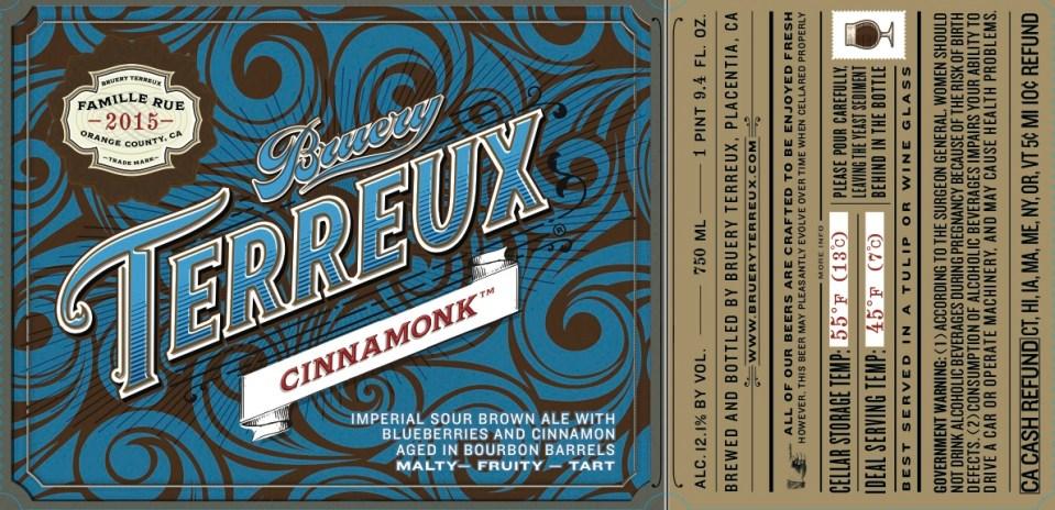 Bruery Terreux Cinnamonk