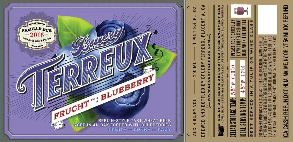 Bruery Terreux Frucht Blueberry