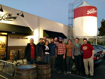 The brewing teams at The Bruery in California