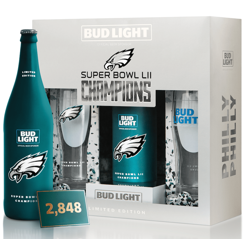 Bud Light Philadelphia Eagles Set