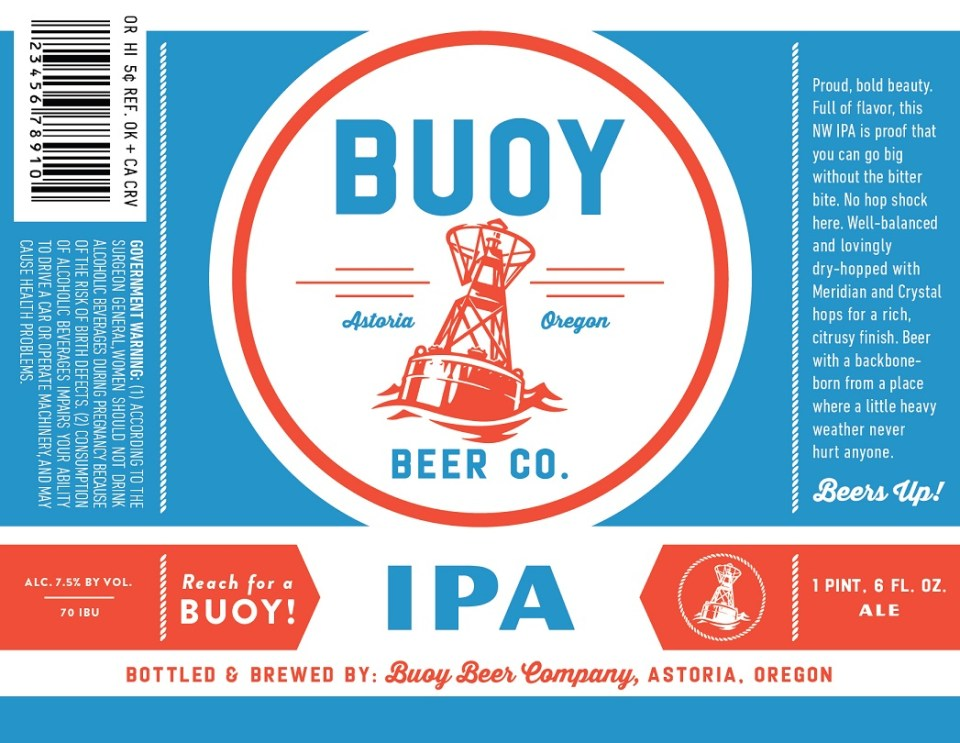 Buoy Beer Co. IPA