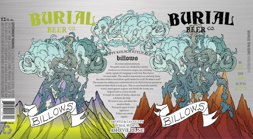 Burial Beer Billows