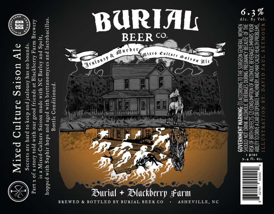 Burial Beer Jealous & Murder
