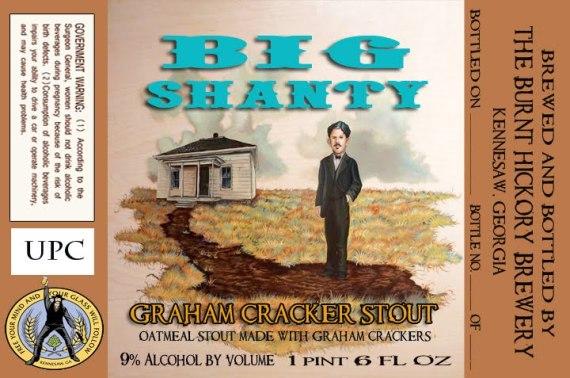 Burnt Hickory Big Shanty Graham Cracker Stout