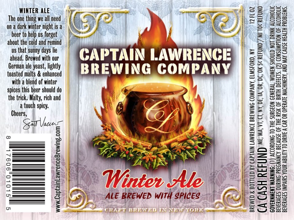 Captain Lawrence Winter Ale