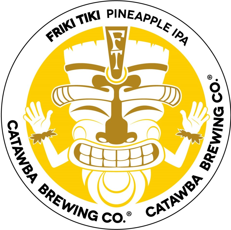 Catawba Friki Tiki Pineapple