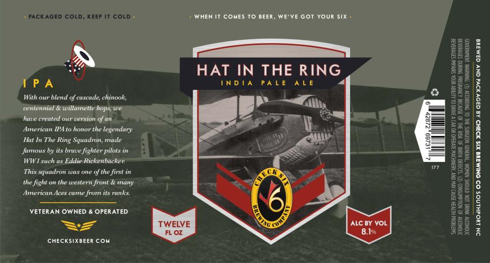 Check Six Hat in the Ring