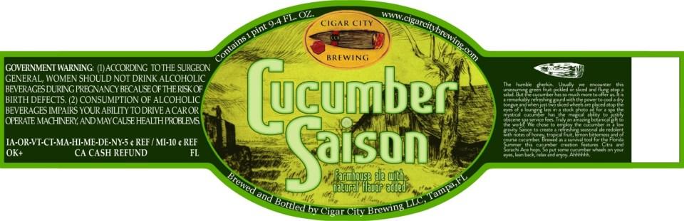 Cigar City Cucumber Saison
