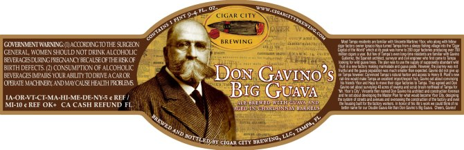 Cigar City Don Gavino's Big Guava