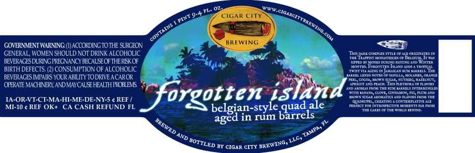 Cigar City Forgotten Island
