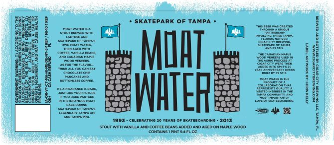 Cigar City Moat Water