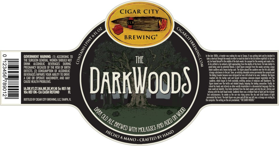 Cigar City The DarkWoods