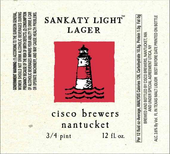 Cisco Brewing Sankaty Light Lager