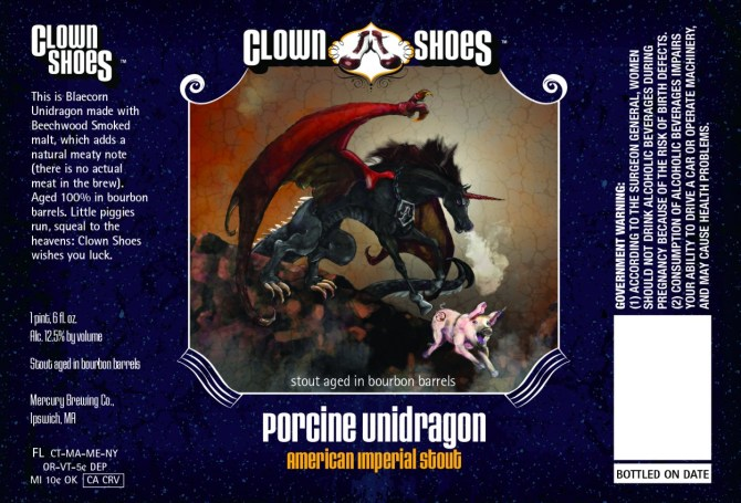 Clown Shoes Porcine Unidragon