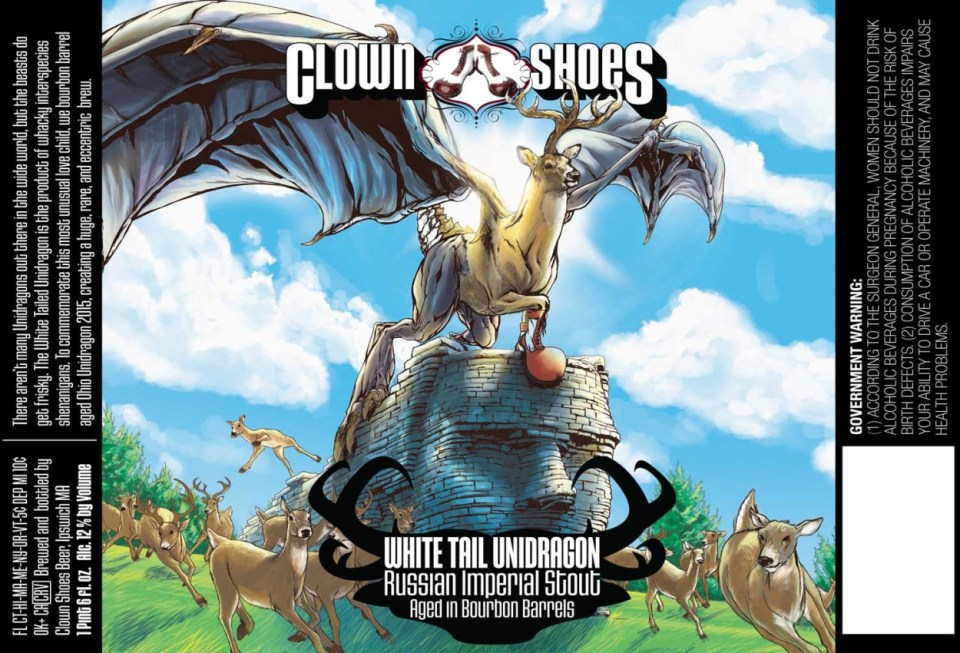Clown Shoes White Tail Unidragon