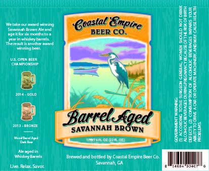 Coastal Empire Barrel Aged Savannah Brown