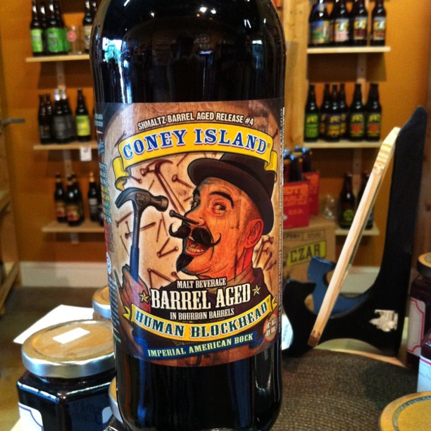 Coney Island Barrel-Aged Blockhead
