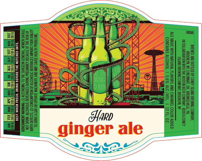 Coney Island Hard Ginger Ale