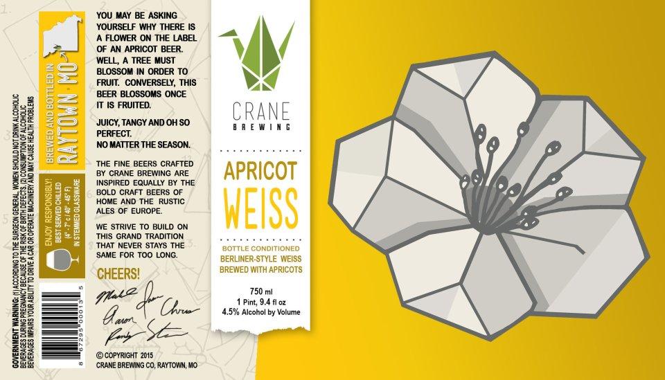 Crane Brewing Apricot Weiss