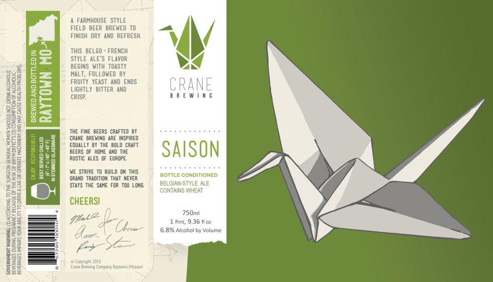 Crane Brewing Saison