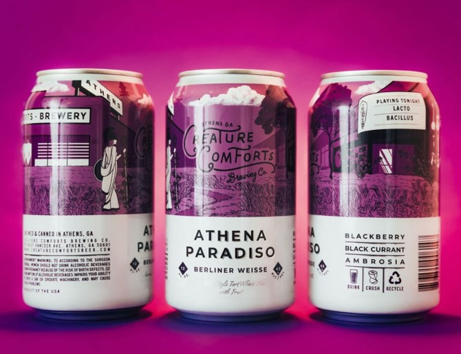 Creature Comforts Athena Paradiso Blackberries & Black Currants