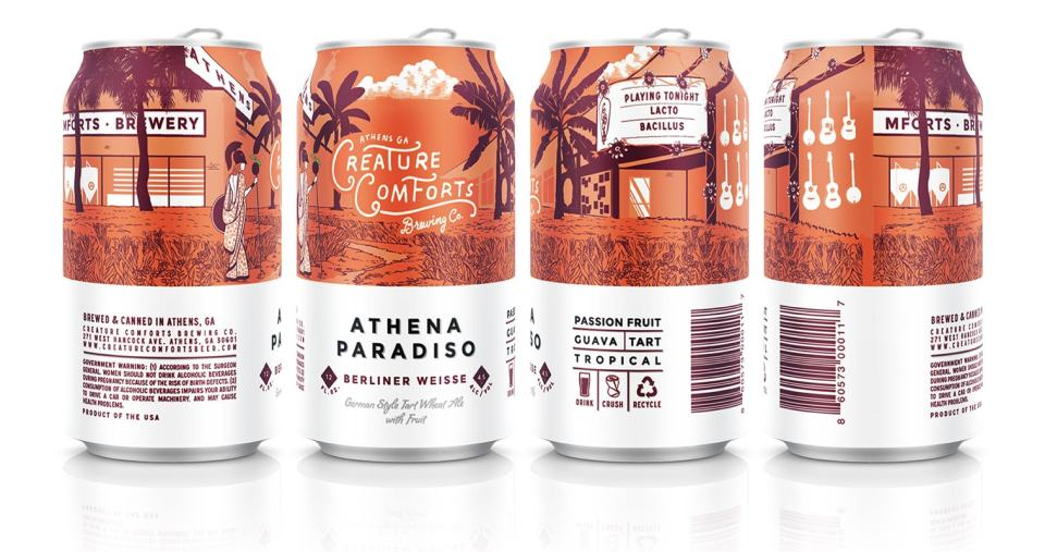 Creature Comforts Athena Paradiso with Passionfruit and Guava