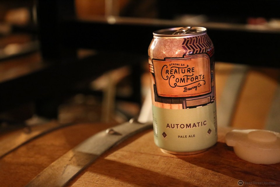 Creature Comforts Automatic Pale Ale Can