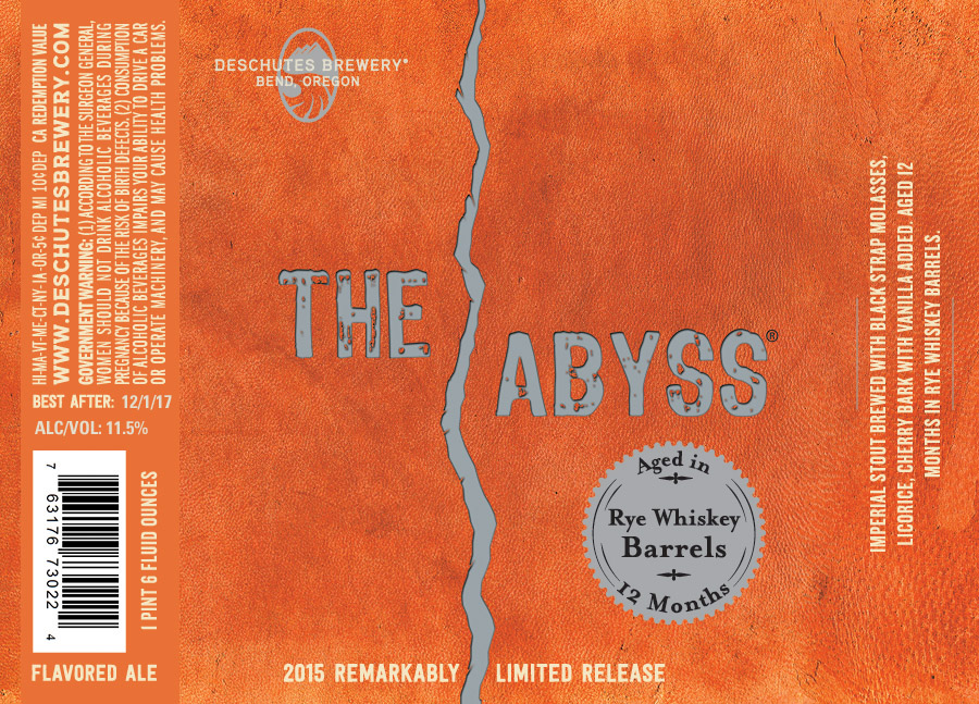 Deschutes Barrel Aged The Abyss