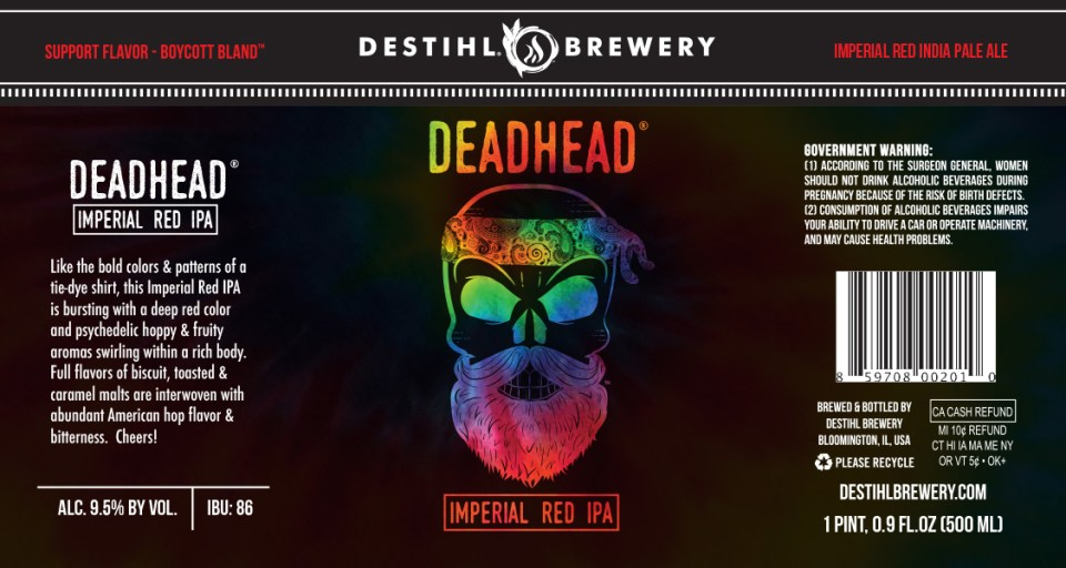 Destihl Dead Head Imperial Red IPA