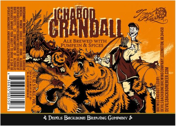 Devil's Backbone Ichabod Crandall