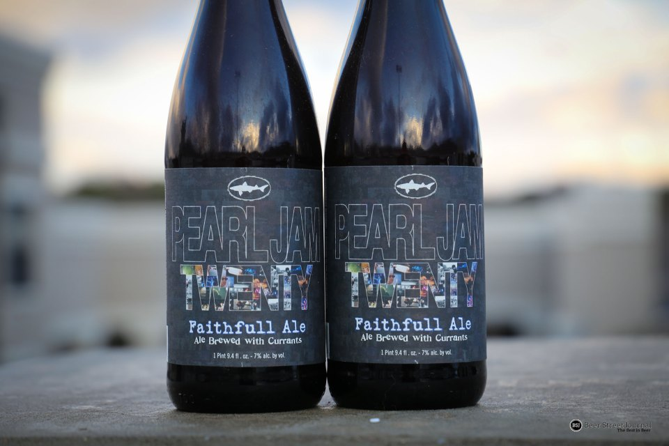 Dogfish Head Pearl Jam Twenty Faithfull Ale Bottles