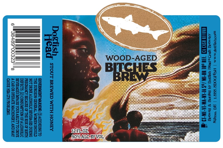 Dogfish Head Wood-Aged Bitches Brew