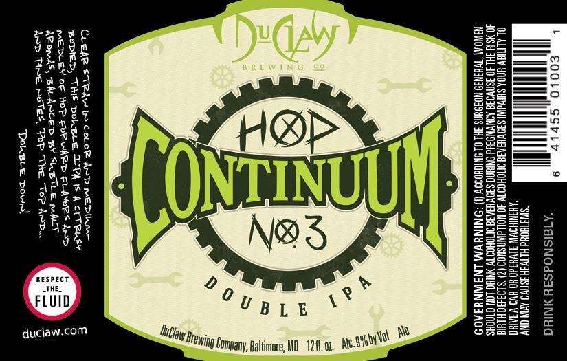 DuClaw Hop Continuum No. 3